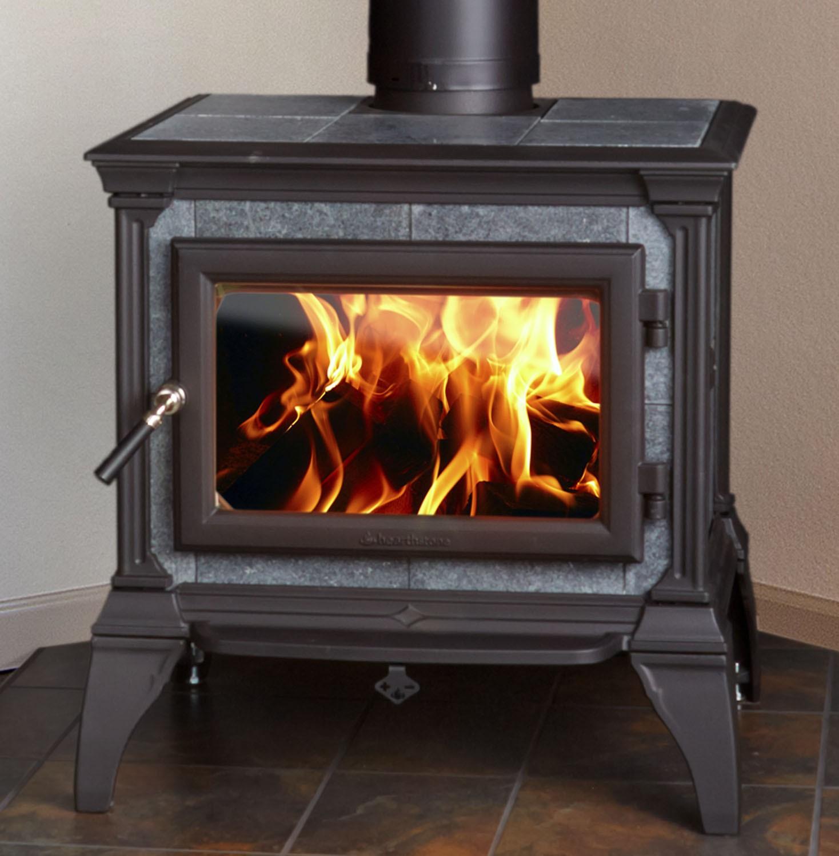 CASTLETON 8030 Wood Stove - Fireplaces Iowa City & North Liberty Brick House Op's